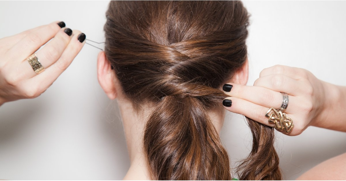 Crisscross Ponytail How To | Popsugar Beauty For The Criss Cross Ponytail Hairstyles (View 14 of 25)