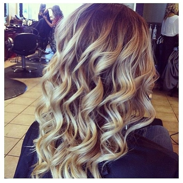 Curls For Days | Hair | Pinterest | Hair Makeup, Makeup And Hair Style With Regard To Soft Flaxen Blonde Curls Hairstyles (View 11 of 25)