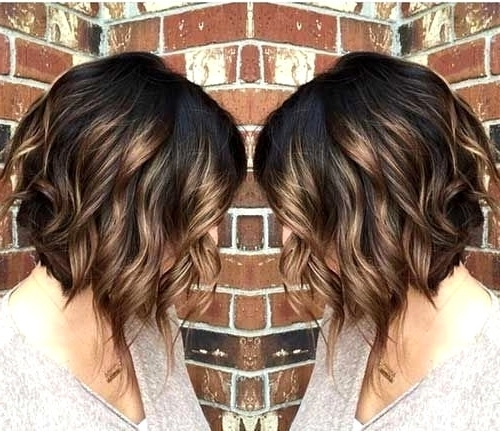 Curly Bob Haircuts With Bangs – 138.68. (View 23 of 25)