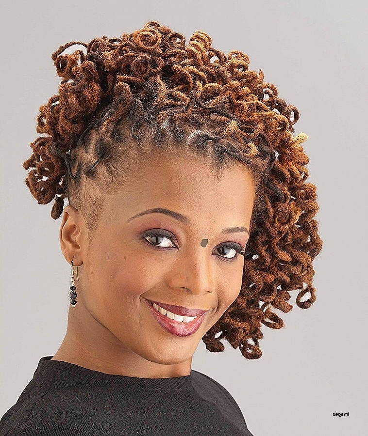 Curly Hairstyles: Beautiful Short Curly Ponytail Hairstyl Throughout Asymmetrical Curly Ponytail Hairstyles (View 16 of 25)