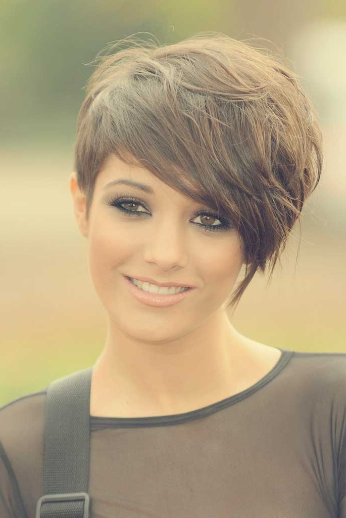 Cute Easy Short Hairstyles | Short Hairstyles 2017 – 2018 | Most Inside Best And Newest Short Choppy Side Parted Pixie Hairstyles (View 25 of 25)