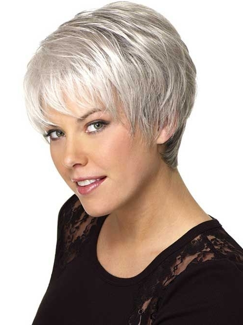 Cute Gray Haircuts (500×667) | Fashion | Pinterest | Haircuts Regarding Most Popular Gray Blonde Pixie Hairstyles (View 12 of 25)