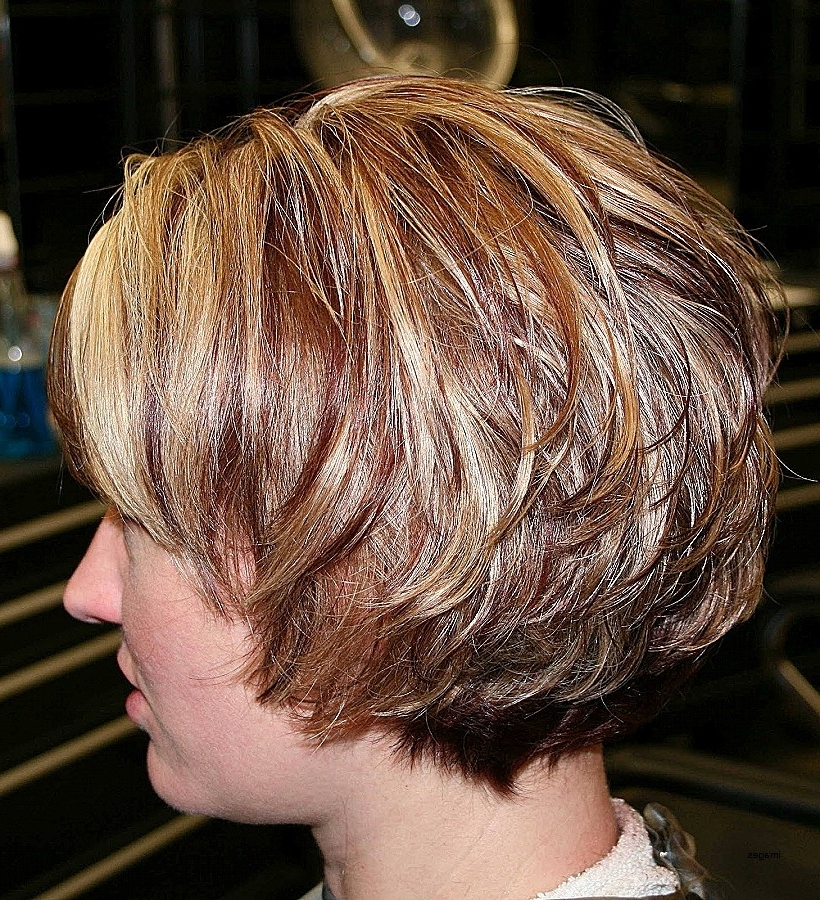 Cute Shaggy Bob Hairstyles New Trendy Copper And Blonde Highlights Inside Shaggy Highlighted Blonde Bob Hairstyles (View 24 of 25)