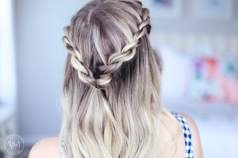 Cute Summer Twists | Beach Hairstyle – Twist Me Pretty In Beachy Braids Hairstyles (View 17 of 25)
