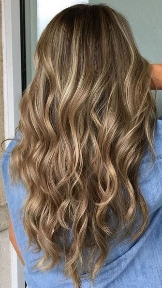 Dark Blonde Dimension (Mane Interest) | Hair | Pinterest | Soft Inside Dirty Blonde Hairstyles With Subtle Highlights (View 2 of 25)