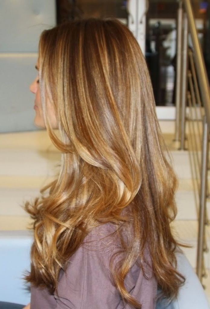 Dark/medium Blonde With Some Caramel Highlights | Splitting Hairs Within Dirty Blonde Hairstyles With Subtle Highlights (View 10 of 25)