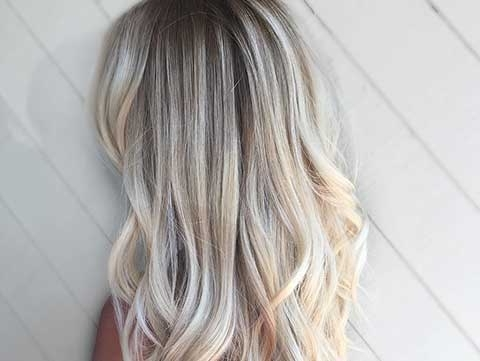 Dark Roots, Blonde Hair: The Perfect Low Maintenance Haircolor | Redken Inside Platinum Blonde Hairstyles With Darkening At The Roots (Gallery 15 of 25)