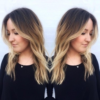 Dark Roots, Blonde Hair: The Perfect Low Maintenance Haircolor | Redken Regarding Dark Roots Blonde Hairstyles With Honey Highlights (Gallery 20 of 25)