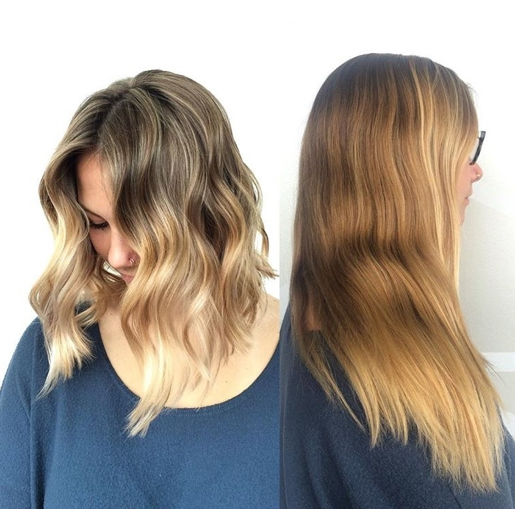 Decided To Turn My Grown Out Blonde Balayage Into An Even Blonder With Grown Out Balayage Blonde Hairstyles (Gallery 6 of 25)