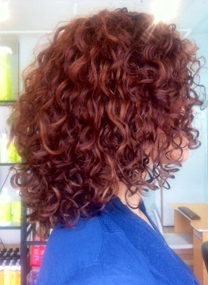 Deva Cut And Colour. Www.curlbar.ca | Are You A Botticelli/3A/3B/3C With Botticelli Ponytail Hairstyles (Gallery 7 of 25)