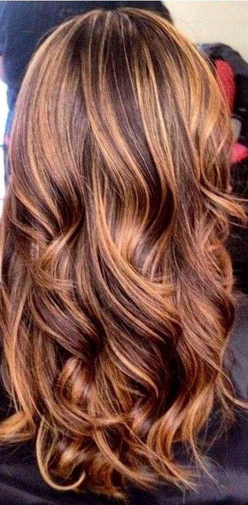 Different Hair Colors With Highlights – Amazinghairstyle.ml With Rosewood Blonde Waves Hairstyles (Gallery 20 of 25)