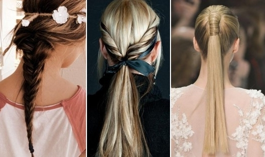 Different Ponytails – Hair World Magazine Pertaining To Braided And Knotted Ponytail Hairstyles (Gallery 22 of 25)
