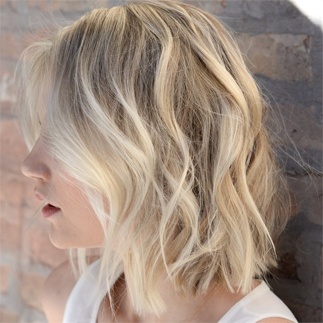 Dimensional Pale Blonde For Summer – Hair Color – Modern Salon For Pale Blonde Balayage Hairstyles (View 21 of 25)