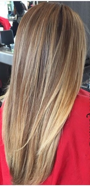 Dirty Blonde | Hair | Pinterest | Blondes, Hair Coloring And Hair Style Throughout Straight Sandy Blonde Layers (Gallery 4 of 25)