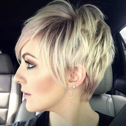 Disconnected Blonde Balayage Pixie – Haircut Styles And Hairstyles Intended For Best And Newest Disconnected Blonde Balayage Pixie Hairstyles (Gallery 2 of 25)