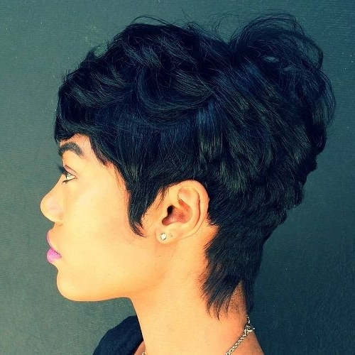Disheveled Pixie For Thick Hair | A Cut Above (View 23 of 25)