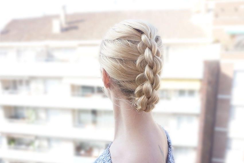 Diy 3D Dutch Braid Tutorial For A Bad Hair Day - Hairsaffairs regarding Loose 3D Dutch Braid Hairstyles