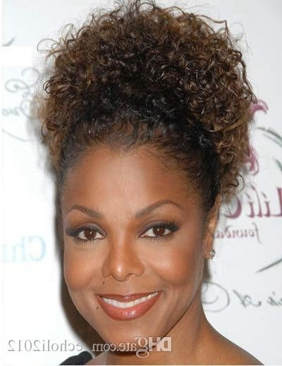 Dora Afro Kinky Curly Weave Ponytail Hairstyles Clip Ins Natural throughout High-Top Ponytail Hairstyles With Wavy Extensions