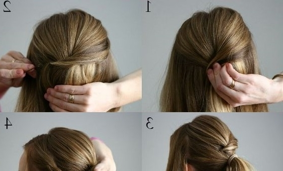 Double Braided Wrapped Ponytail | Makeup Mania intended for Double Braided Wrap Around Ponytail Hairstyles