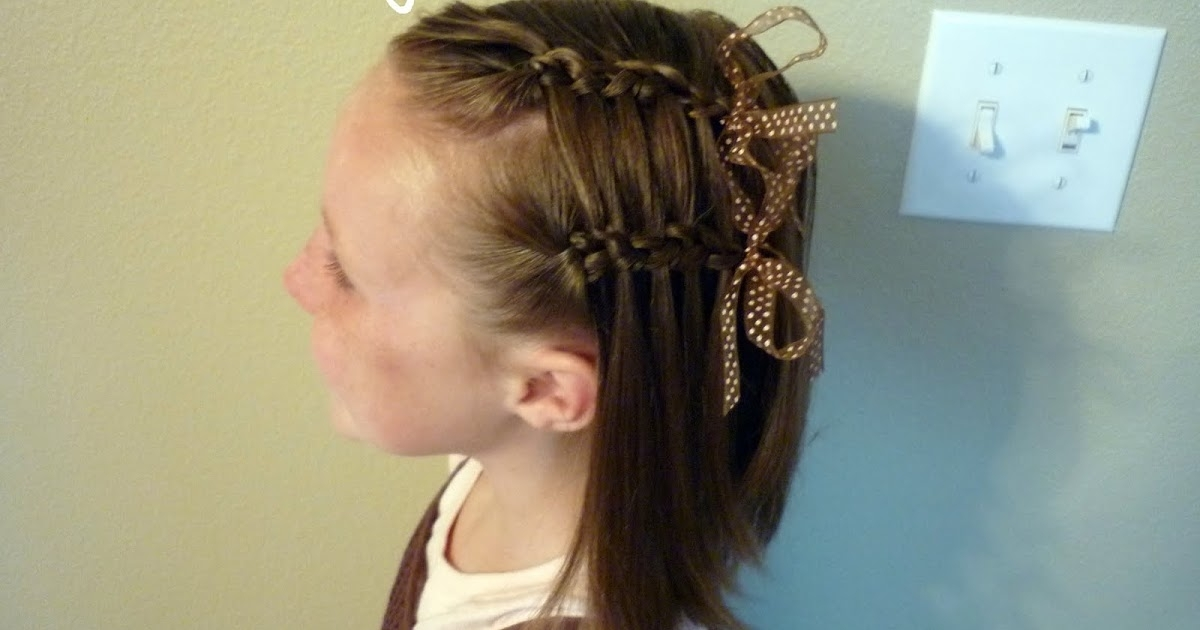 Double Faux Waterfall French Braid - Hairstyles For Girls - Princess for Double Floating Braid Hairstyles