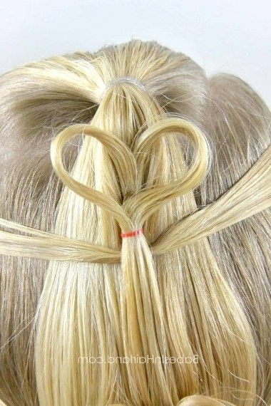 Double Floating Hearts | Hair | Pinterest | Heart Hair, Hair Style With Regard To Double Floating Braid Hairstyles (Gallery 2 of 25)