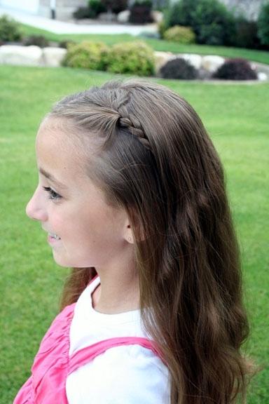 Double Hidden Braids   Cute Hairstyles   Cute Girls Hairstyles With Regard To Hidden Braid Hairstyles (Gallery 1 of 25)