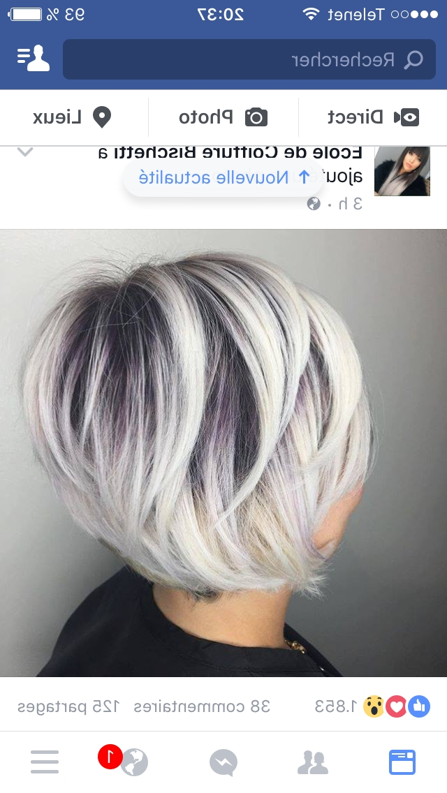 Down In Tips Of My Hair With This Dark Color | Hair In 2018 Within Platinum Blonde Bob Hairstyles With Exposed Roots (Gallery 15 of 25)
