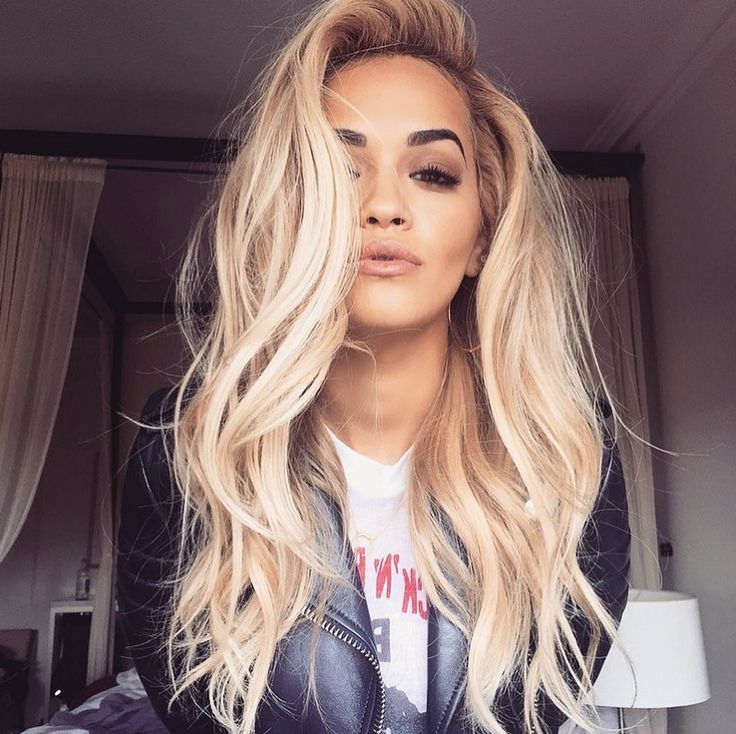 Dream Of Longer Locks? Here's How To Lengthen Yours The Natural Way With Long Platinum Locks Blonde Hairstyles (Gallery 11 of 25)
