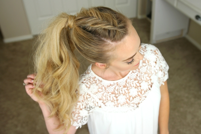 Dutch Fishtail Mohawk Braid | Hair | Pinterest | Mohawks, Fishtail Intended For Honey Blonde Fishtail Look Ponytail Hairstyles (Gallery 23 of 25)