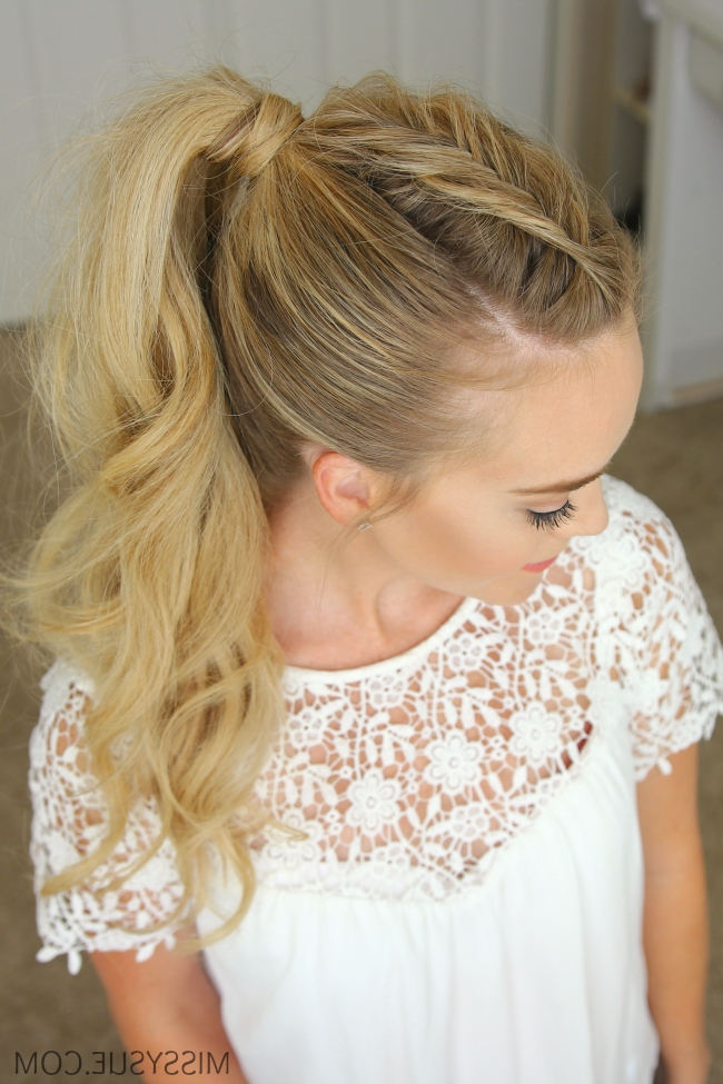 Dutch Fishtail Mohawk Braid | Missy Sue Intended For Undone Fishtail Mohawk Hairstyles (Gallery 12 of 25)