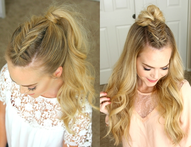Dutch Fishtail Mohawk Braid | Missy Sue Within Undone Fishtail Mohawk Hairstyles (View 5 of 25)