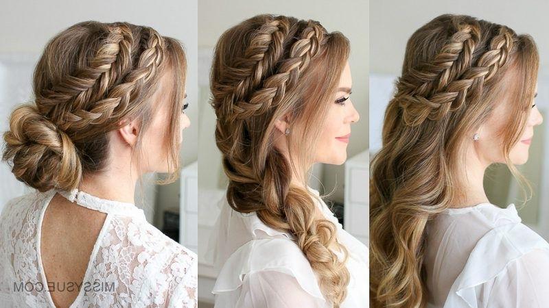Dutch Fishtail Mohawk Braid | Travel Hair | Pinterest | Fishtail For Undone Fishtail Mohawk Hairstyles (Gallery 4 of 25)