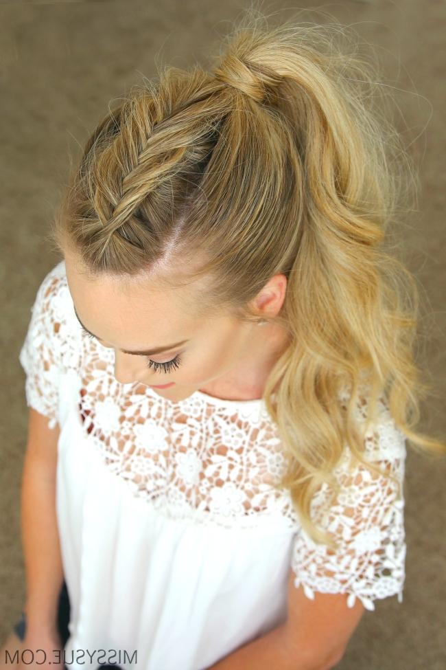 Dutch-Mohawk-Ponytail-Hairstyle | Hair Tutorials | Pinterest with regard to Undone Fishtail Mohawk Hairstyles