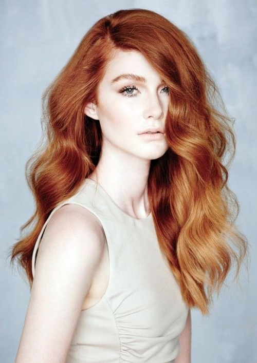 Dyeing Your Hair Strawberry Blonde – Hair World Magazine With Regard To Pale Blonde Balayage Hairstyles (View 17 of 25)