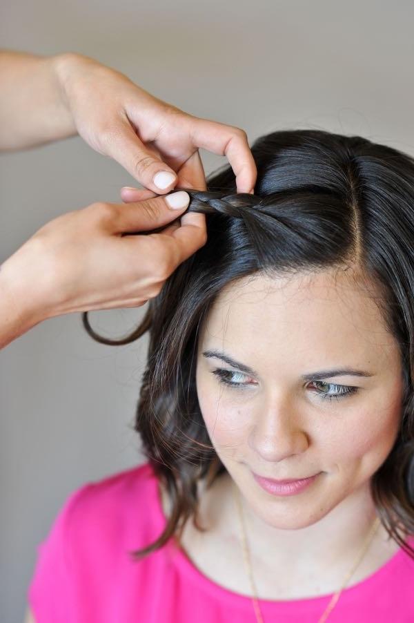Easy Braids For Short Hair   Macrame Braid – My Style Vita Regarding Macrame Braid Hairstyles (View 12 of 25)
