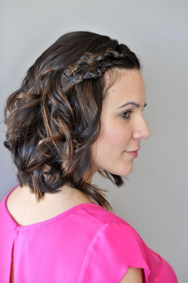 Easy Braids For Short Hair   Macrame Braid – My Style Vita Regarding Macrame Braid Hairstyles (View 8 of 25)