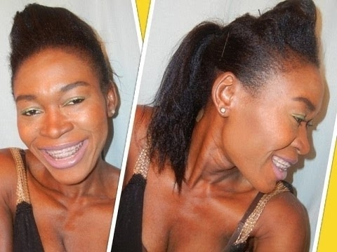 Easy Bumped Ponytail (View 12 of 25)