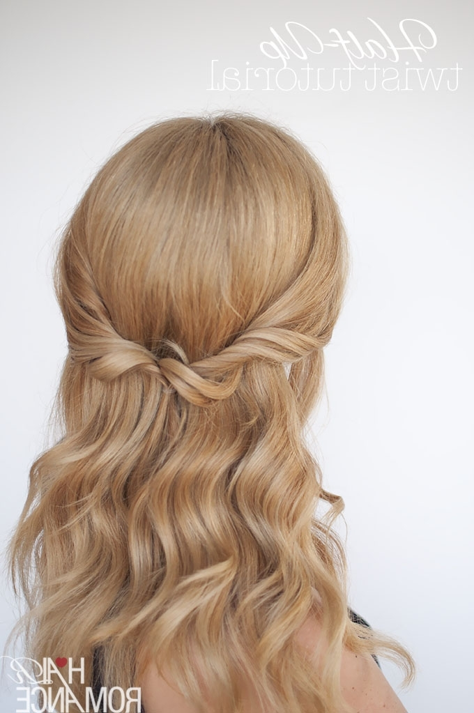 Featured Photo of Romantic Twisted Hairdo Hairstyles