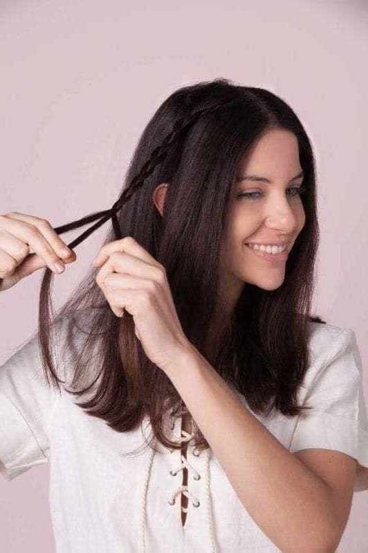 Easy Hidden Braid Hairstyles How To Get The New Look | Pinterest Inside Hidden Braid Hairstyles (View 19 of 25)