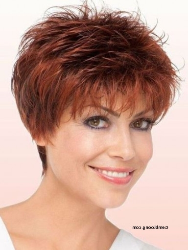 Easy To Manage Short Hairstyles For Fine Hair Lovely 20 Ravishing Inside Most Current Ravishing Red Pixie Hairstyles (View 18 of 25)