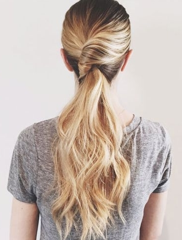 Easy Twisted Pony | Hair & Beauty | Pinterest | Pony, Hair Style And For Twisted Pony Hairstyles (View 24 of 25)
