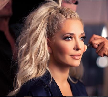 Erika Girardi/jayne Hair — French Braid Down Center, Hair Half Up Within Braided Along The Way Hairstyles (View 17 of 25)