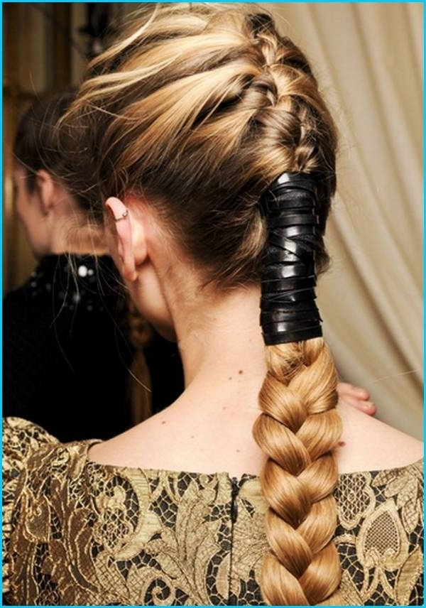 Evening Princess Like 31 Hairstyle, We Opt For The Extra Wide Trend With Princess Like Ponytail Hairstyles For Long Thick Hair (View 8 of 25)