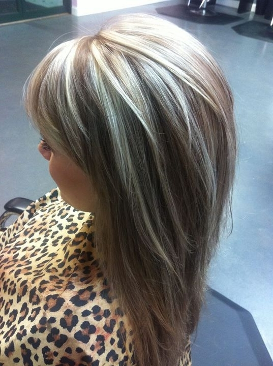 Everyone Loves This Icy Blonde With Beige Low Lights! | Hairstyles With Dark Blonde Hairstyles With Icy Streaks (View 20 of 25)