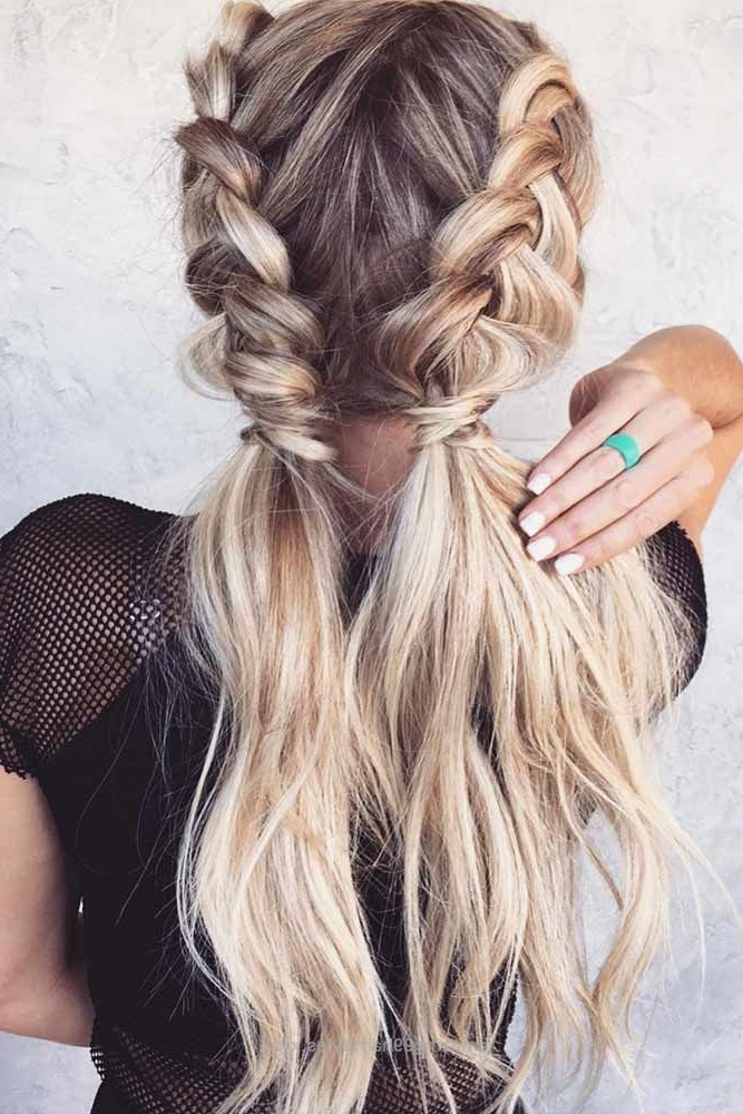 Excellent 63 Amazing Braid Hairstyles For Party And Holidays With Loose 3D Dutch Braid Hairstyles (View 3 of 25)