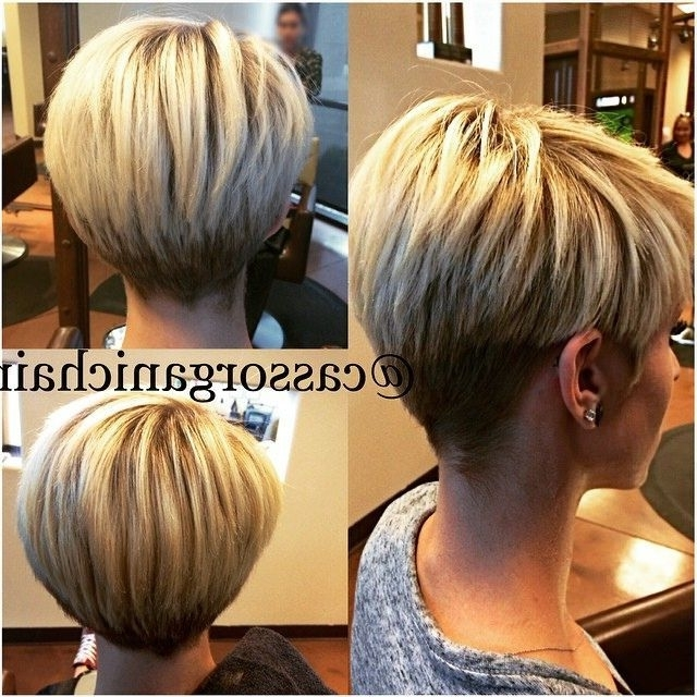 Explore Short Hairstyles And M     Hair   Pinterest   Short Inside Most Popular Pixie Wedge Hairstyles (View 2 of 25)