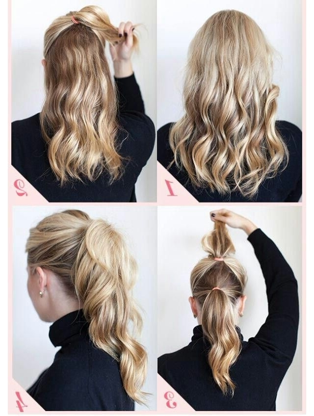 Extra Volume Pony Tail | Hair | Pinterest | Hair Style, Messy Hair Intended For Curly Pony Hairstyles For Ultra Long Hair (View 11 of 25)