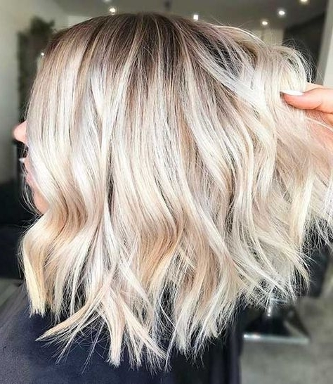 Eye Catching 23 New Short Blonde Hairstyles | Hairstyles | Pinterest Inside Blonde Ombre Waves Hairstyles (View 18 of 25)