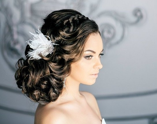 Fabulous Wedding Bridal Hairstyles For Long Hair – Weddingwoow With Fabulous Bridal Pony Hairstyles (View 19 of 25)