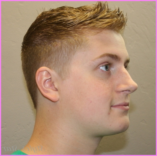 Fade Haircut Boys Kids Boy S Haircuts 2015 Elegant Boys Fade Haircut With Regard To Fade To White Blonde Hairstyles (View 21 of 25)
